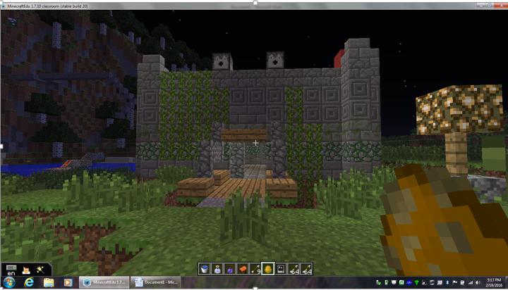 Minecraft Bi-Weekly Build Challenge #76: Library : Minecraft