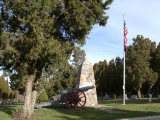 Evergreen Cemetery Memorial