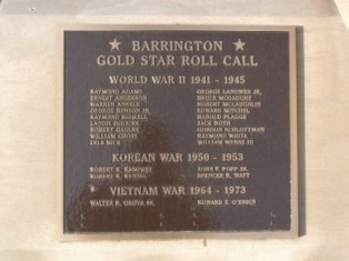 Barrington Veterans Memorial