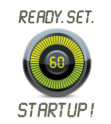 Ready Set Start-Up Logo