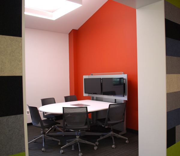 Photograph of media:scape FORUM meeting room