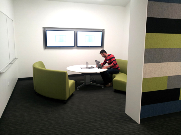 Photograph of media:scape LOUNGE meeting room